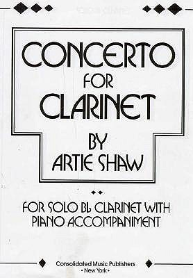 Concerto for Clarinet By Shaw, Artie