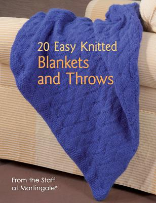 20 Easy Knitted Throws By Martingale & Company (COR)